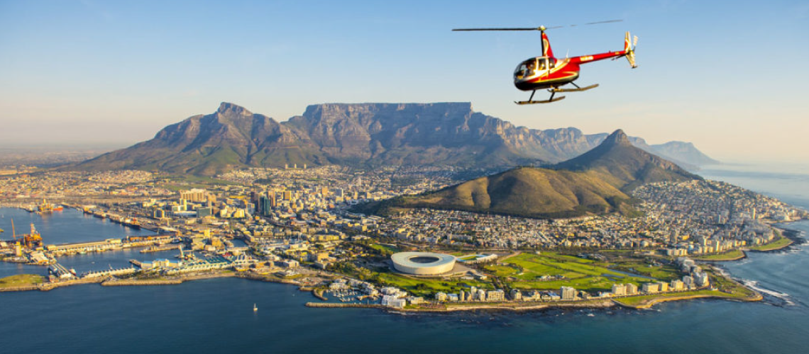 , Cape Town Helicopters, Ocean View House, Ocean View House